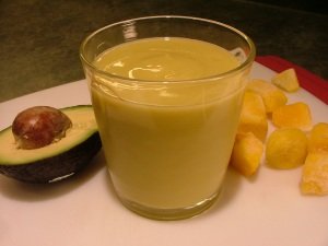 mango avocado smoothie 016