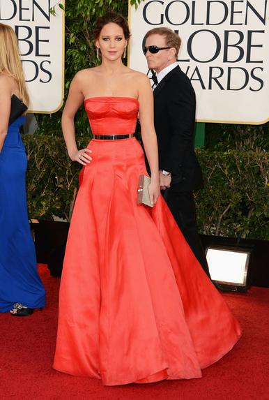Jennifer Lawrence in Dior Haute Couture & Chopard